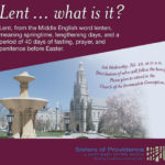 Lent ... what is it?