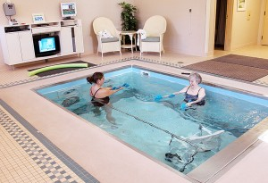 Providence Health Care is the only facility in the Wabash Valley to offer an on-site aquatic therapy pool allowing even patients with limited mobility access to beneficial water therapy.